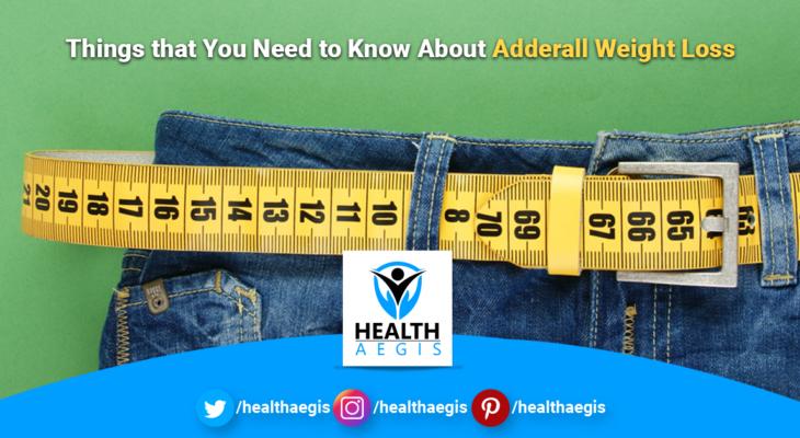 Adderall weight loss