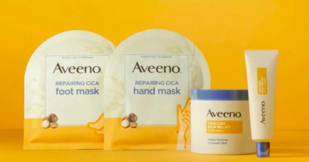 Aveeno Repairing Cica Hand and Foot Masks