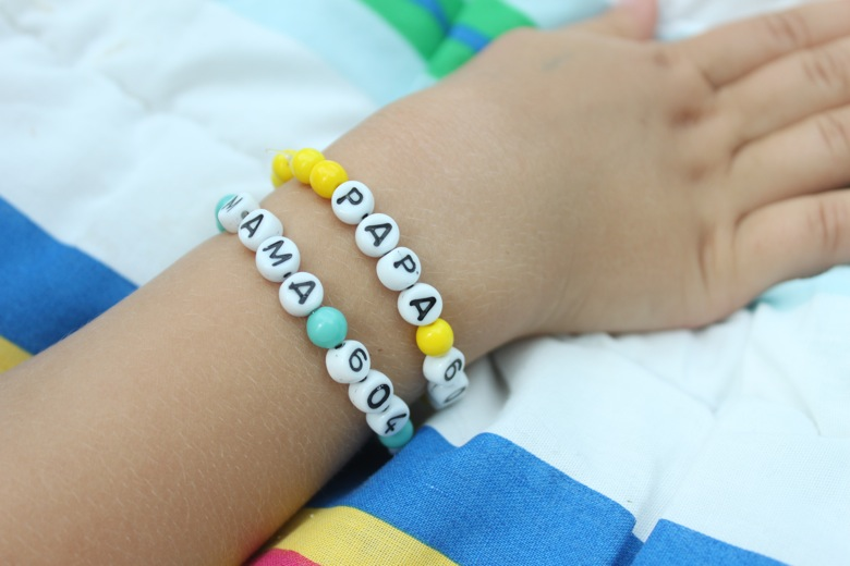 Bracelets with numbers